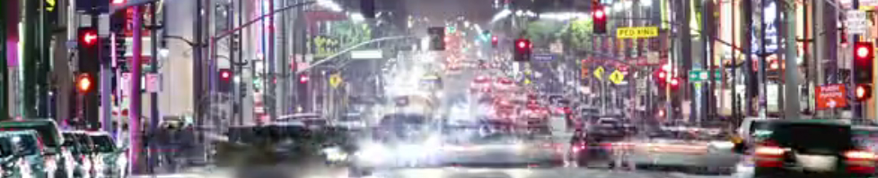 Hollywood Blvd. at night | DUI lawyer Jon Artz