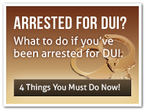 Arrested for DUI? What to do if you have been arrested for DUI